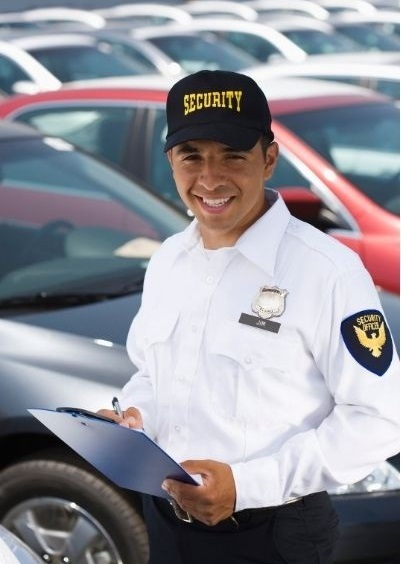 security parking lot